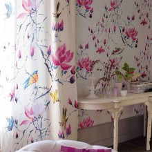 Madame Butterfly Fabric