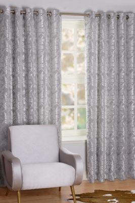 SLX Readymade Curtain – Fern Silver
