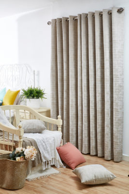 SLX Readymade Curtain – Marble Calico