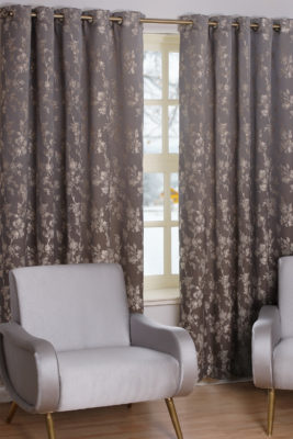 SLX Readymade Curtain – Watercolour Platinum